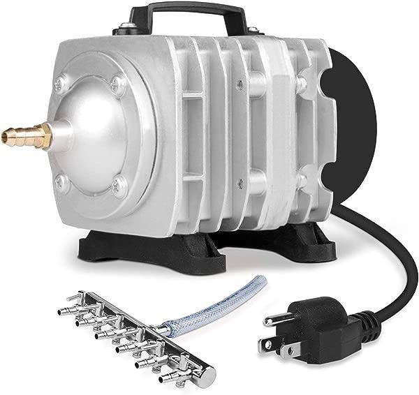 VIVOSUN Air Pump 950 GPH 32W 60L Min 6 Outlet Commercial Air Pump For Aquarium And Hydroponic Systems