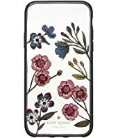 Kate Spade New York - Jeweled Meadow Clear Phone Case for iPhone X