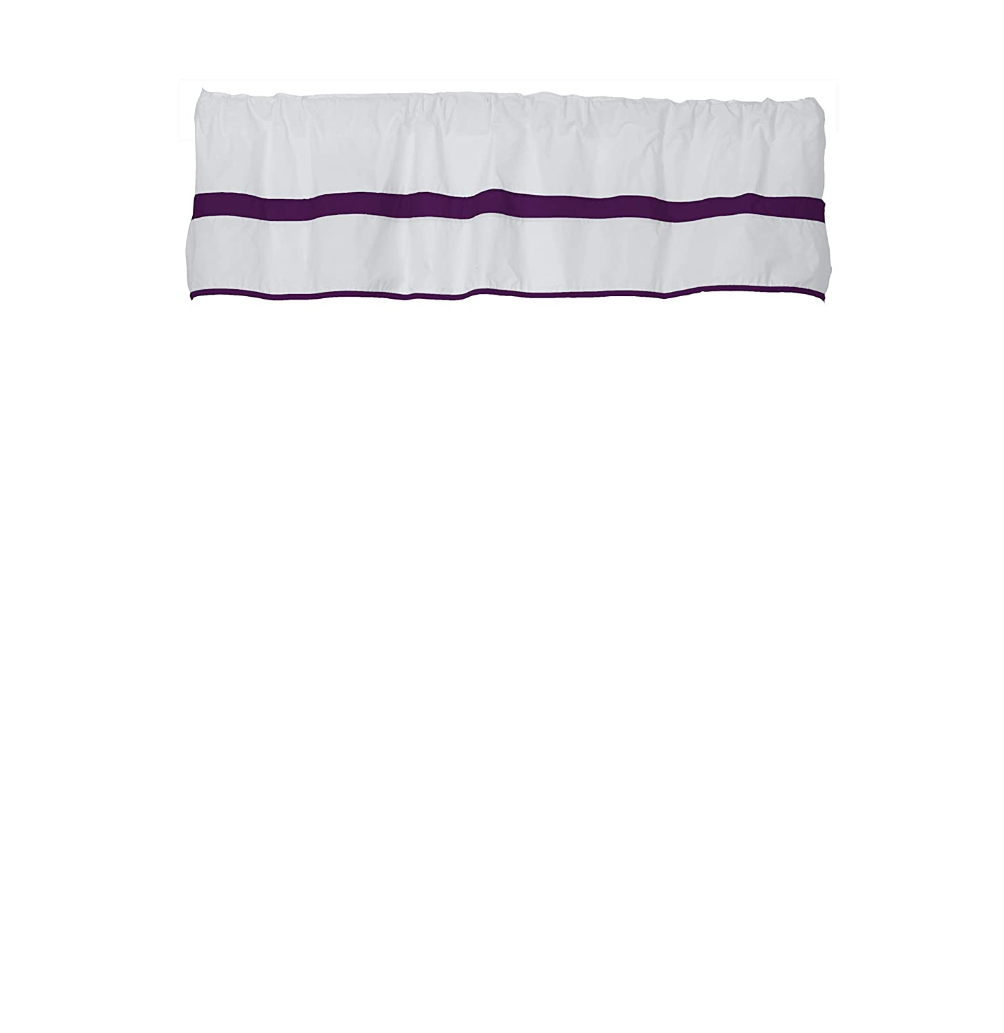 Baby Doll Bedding Modern Hotel Window Outlet SALE Plum Valance Style Max 86% OFF