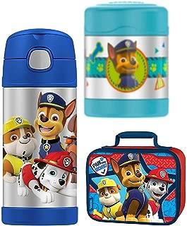 Thermos Funtainer 10 oz Food Jar, 12 oz Bottle Lunch Kit - Paw Patrol