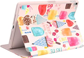 Speck BalanceFolio + Print iPad Case and Stand, for 9.7-inch iPad (2017/2018) iPad Air 2/iPad Air, SweetTreat Peach