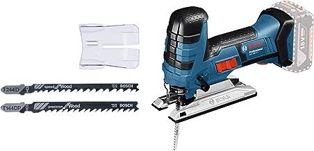 Bosch Professional GST 18 V-LI S Sierra de calar, 550-2.700 cpm, profundidad de corte 120 mm, sin batería, en caja, empuñadura recta