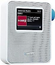 BLAUPUNKT PIB 100 Steckdosen Internetradio, WLAN Empfang, großes Farb-Display, Steckdose..