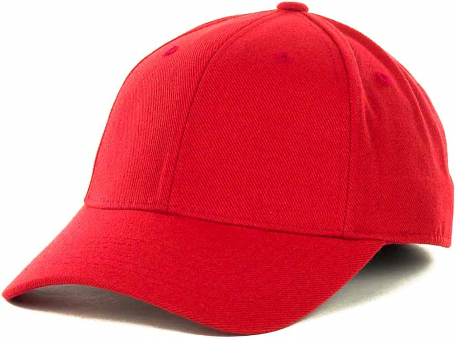Top of the World by Lids Men's Closer Fitted Blank Baseball Hat Cap