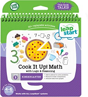 Leap Frog Math With Logic- Reasoning 30+ Page Activity Book, Multicolor, Piece Of 1