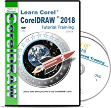 Corel CorelDRAW 2018 Tutorial Training on 2 DVDs Over 13 Hours in 200 Video Lessons