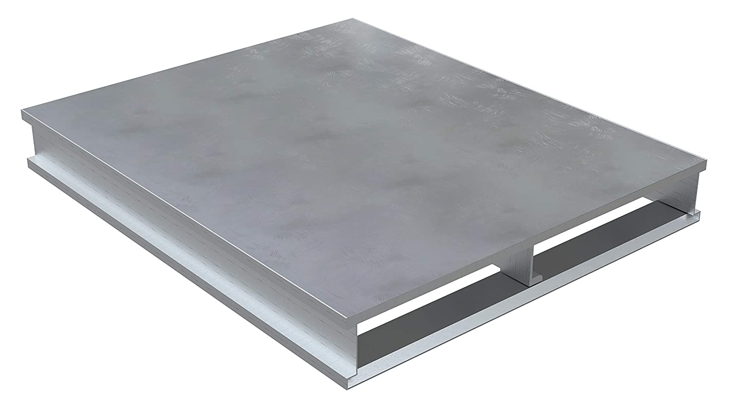 Vestil Heavy Duty Max 43% OFF Aluminum Solid Top 2021new shipping free 40X48 Pallet