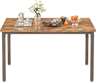 IRONCK Dining Table, Farmhouse Kitchen Table for 4...