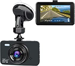 Dash Cam 1080P FHD Night Vision Car DVR Dashboard Camera Recorder with 3'' IPS Screen, 170° Wide Angle, G-Sensor, WDR, Loop Recording and Motion Function