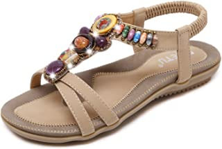 Mujer De Vestir Zapatos esAbalorios Para Amazon Sandalias SMpzVqUG