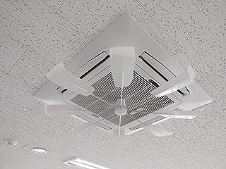 ハイブリッド-ラゴム・ファン Lagom Fan 2020年型新製品-室内インテリアとよく似合う,省エネ天井カセット型-節電グッズ 空調効率UP