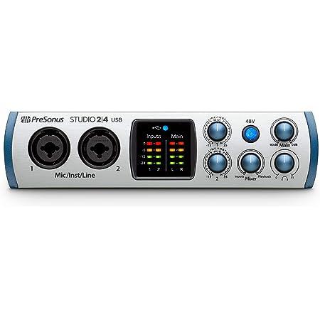 PreSonus オーディオインターフェイス Studio 2 4