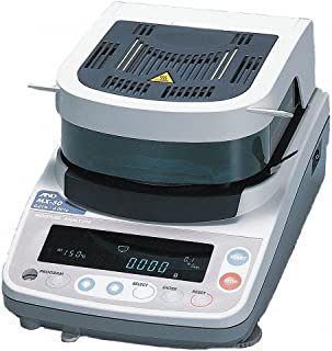 A&D Weighing MX-50 Moisture Determination Balance, 51g x 0.001g, 115 V
