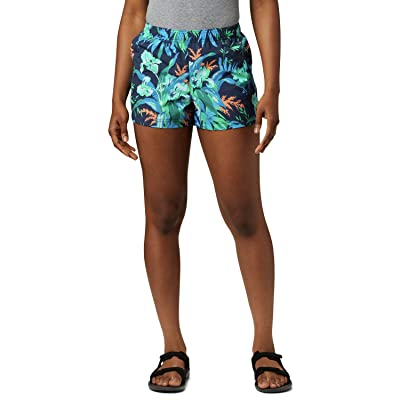 Columbia Sandy Rivertm II 3 Printed Shorts (Nocturnal Magnolia Print) Women