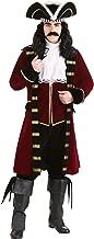 Deluxe Captain Hook Costume Men's Pirate Costume