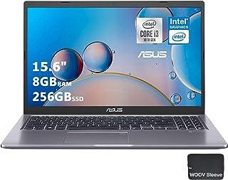 "ASUS VivoBook Thin and Light Laptop | 15.6"" FHD Display | 10th Gen Intel Core i3-1005G1 | 8GB DDR4 RAM, 256GB PCIE SSD, Ba..."