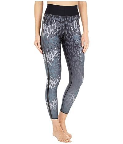Ultracor Ocelot Ultra High Leggings (Stone Print/Patent Nero) Women
