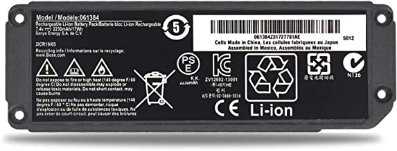Emaks 061385 Battery 061384 061386 063404 063287 for Bose Soundlink Mini I one/Bose SoundLink Mini Bluetooth Speaker one/Bose SoundLink Mini Bluetooth Speaker I/Bose Mini I (7.4V 17Wh)