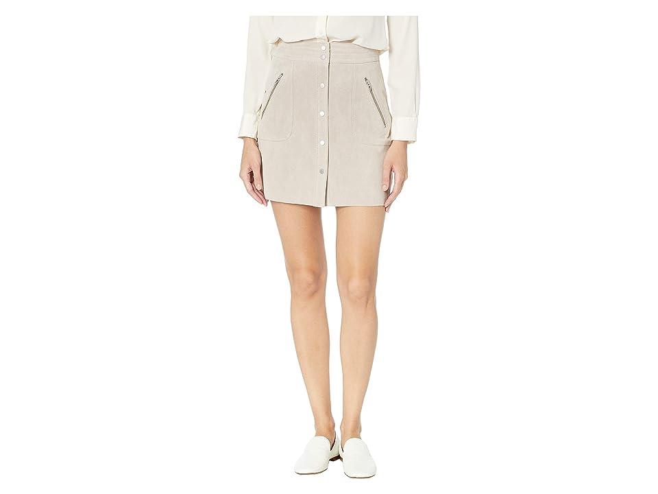 Blank NYC Suede Mini Skirt in Fawn (Fawn) Women
