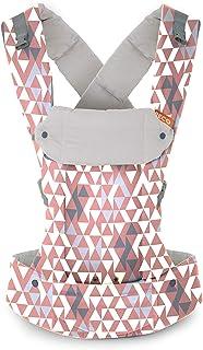 Beco Gemini Baby Carrier, Geo Dusty Pink