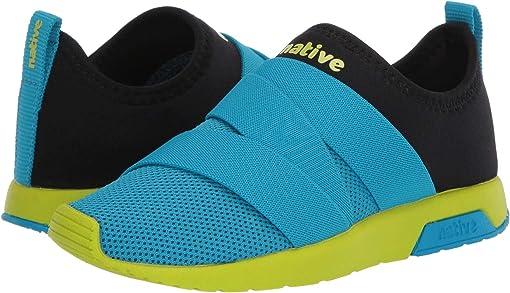 Vivid Blue/Jiffy Black/Chartreuse Green