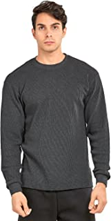 TOP PRO Men's Classic Fit Waffle-Knit Heavy Thermal