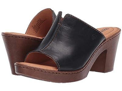 Born Wenaha (Navy Full Grain Leather) Women
