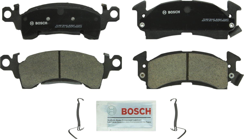 Bosch BC52S QuietCast Premium Ceramic Disc Brake Pad Set For Select 1968-96 Buick; 1967-96 Cadillac, Checker, 1968-02 Chevrolet, 1970-02 GMC, 1974-91 Jeep, 1967-92 Oldsmobile, 1969-89 Pontiac; Front