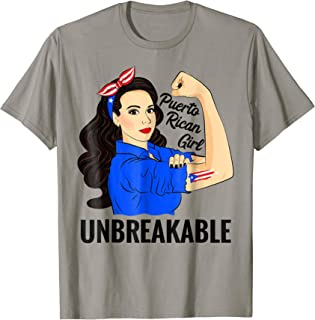 Puerto Rican Girl Unbreakable T-Shirt