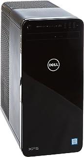戴尔 XPS 8930 台式机(英特尔酷睿 i7-8700 6 核,2TB 硬盘 + 256GB 4x固态硬盘,NVIDIA GeForce GTX 1070 带 8GB GDDR5 显卡内存,DVD RW,Win 10 家庭版 64 位德国版)黑色
