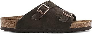Birkenstock Zürich Suede Leather Soft-Footbed Narrow Mocca Size EU 40 - US L9 M7