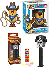Funko The Cap'n Cereal Pop! Head Captain Crunch Character Pez Head Bundled with Ad Icons #27 Twinkie The Kid Vinyl Figure Retro Cap'n Pez Fun Morning Characters