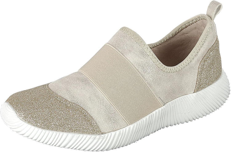 Forever Link Women's Lightweight Glitter Stretch Casual Sport Fashion Sneaker
