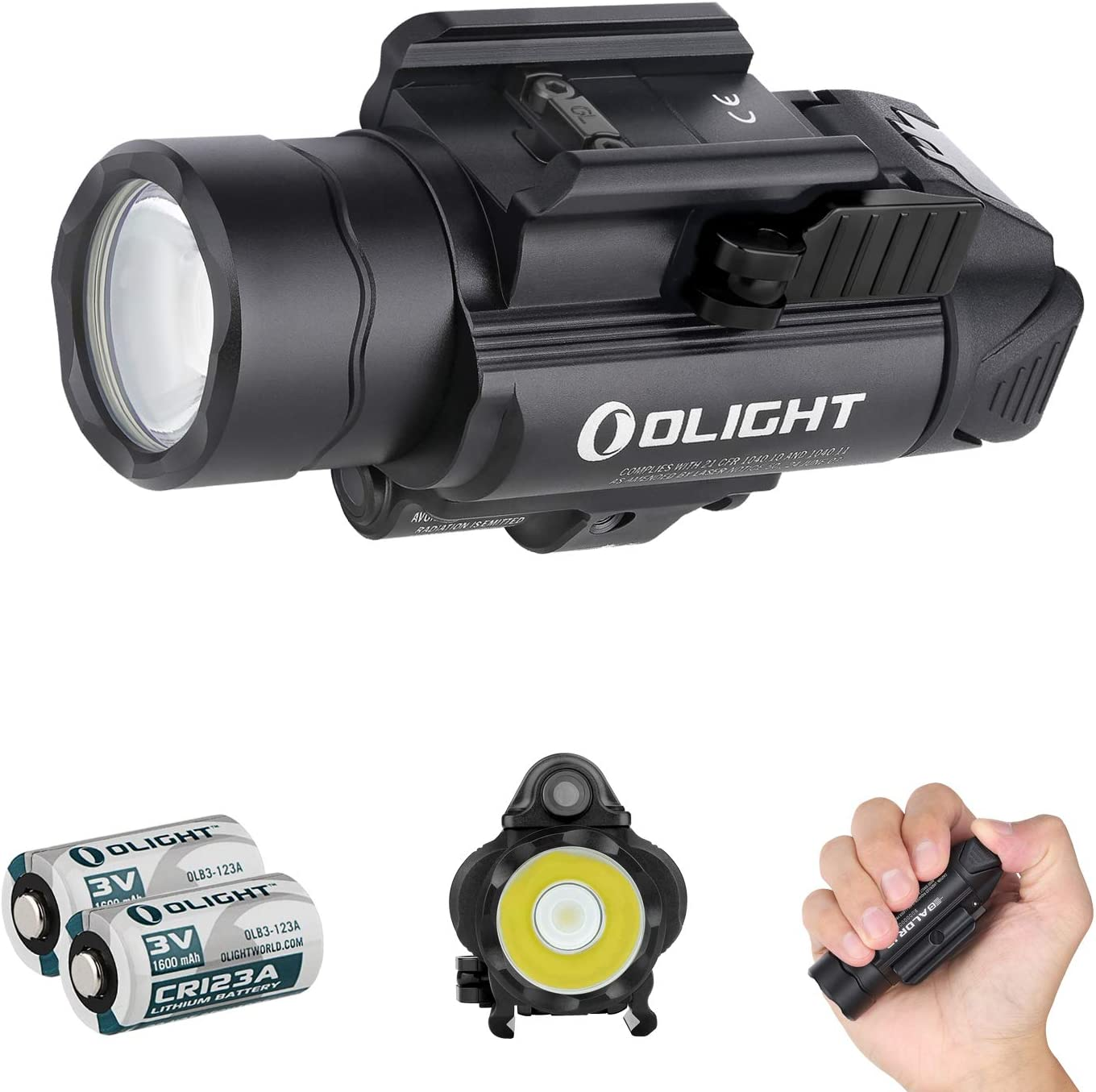 Olight 40% OFF Cheap Sale Baldr IR Ranking TOP4 1350 Lumens Flashlight White Tactical with Light