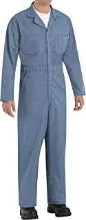 Red Kap mens Red Kap® Men's Twill Action Back Coverall with Chest Pockets Work Utility Coveralls (pack of 1)