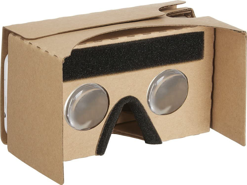 Insignia Virtual Reality Viewer for your Smartphone, works with Google Cardboard, Model NS-MVRCG1