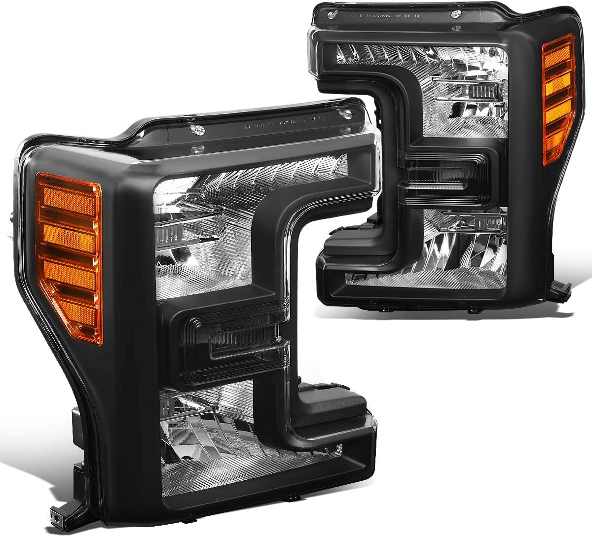 Halogen Model Factory Style Headlights Assembly Los Angeles Mall Compatible Selling rankings wit