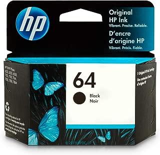 HP 64 | Ink Cartridge | Black | N9J90AN