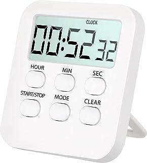Tenyond Small Desk Clock, Mini Travel Clock, Little Digital Clock,Alarm Clock,24H,Loud Alarm,Snooze,AAA Battery Operated,C...