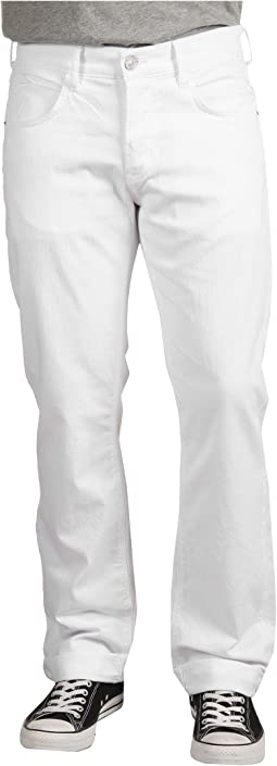 Hudson - Byron 5-Pocket Straight Leg in White