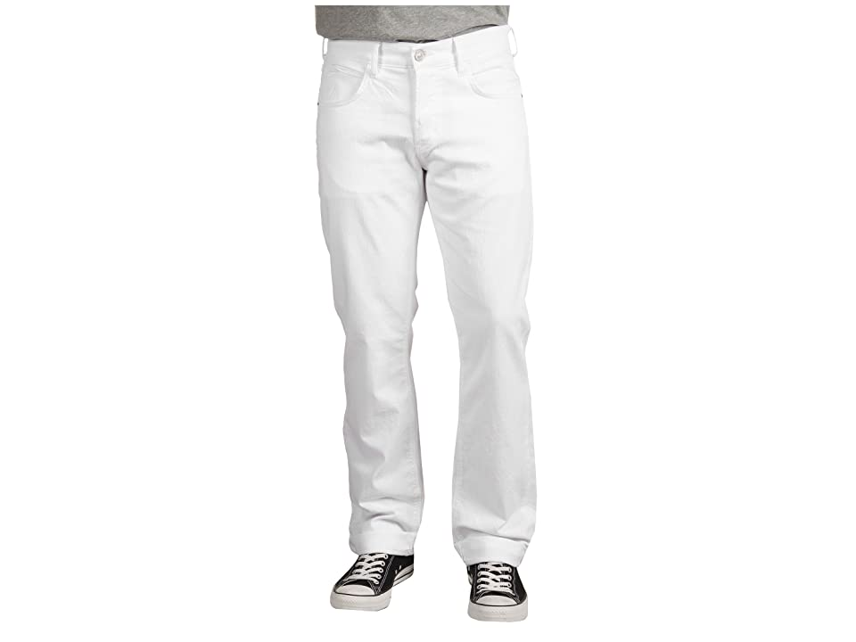 Hudson Jeans Byron 5-Pocket Straight Leg in White (White) Men's Jeans