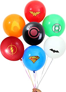 Superhero Party Supplies 70 Pack Superhero Balloons 12