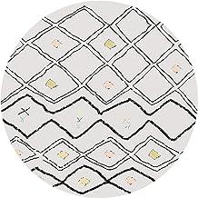 Desk Chair Carpet Short Pile Carpets Anti Slip Rug Pad Silent Floor Mat Easy to Clean Floor Protector Mat(Size:80cm/31in,C...
