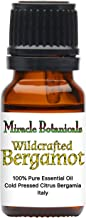 Miracle Botanicals Wildcrafted Bergamot Essential Oil - 100% Pure Citrus Bergamia - 10ml or 30ml Sizes - Therapeutic Grade - Italy 10ml