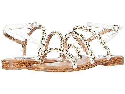 Steve Madden Telsa Sandals (White Multi) Women