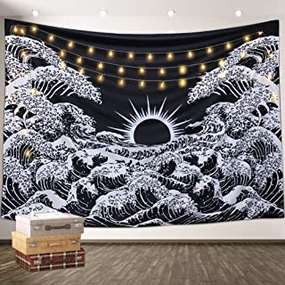 Aamebay Black And White Tapestry