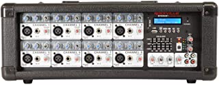 $195 » Rockville RPM80BT 2400w Powered 8 Channel Mixer/Amplifier w/Bluetooth/EQ/Effects