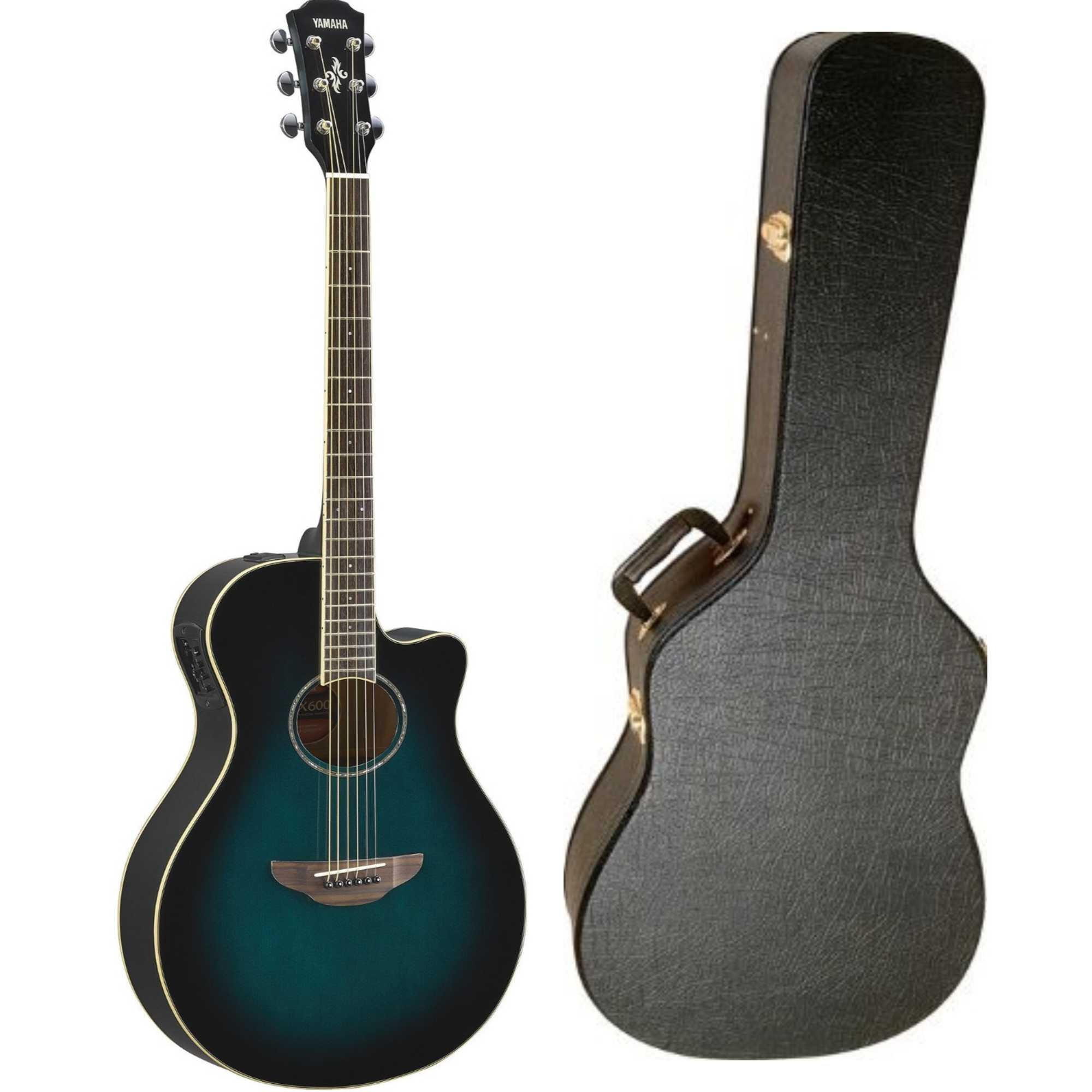 Yamaha apx600obb Thinline Electroacústica guitarra (Oriental azul ...