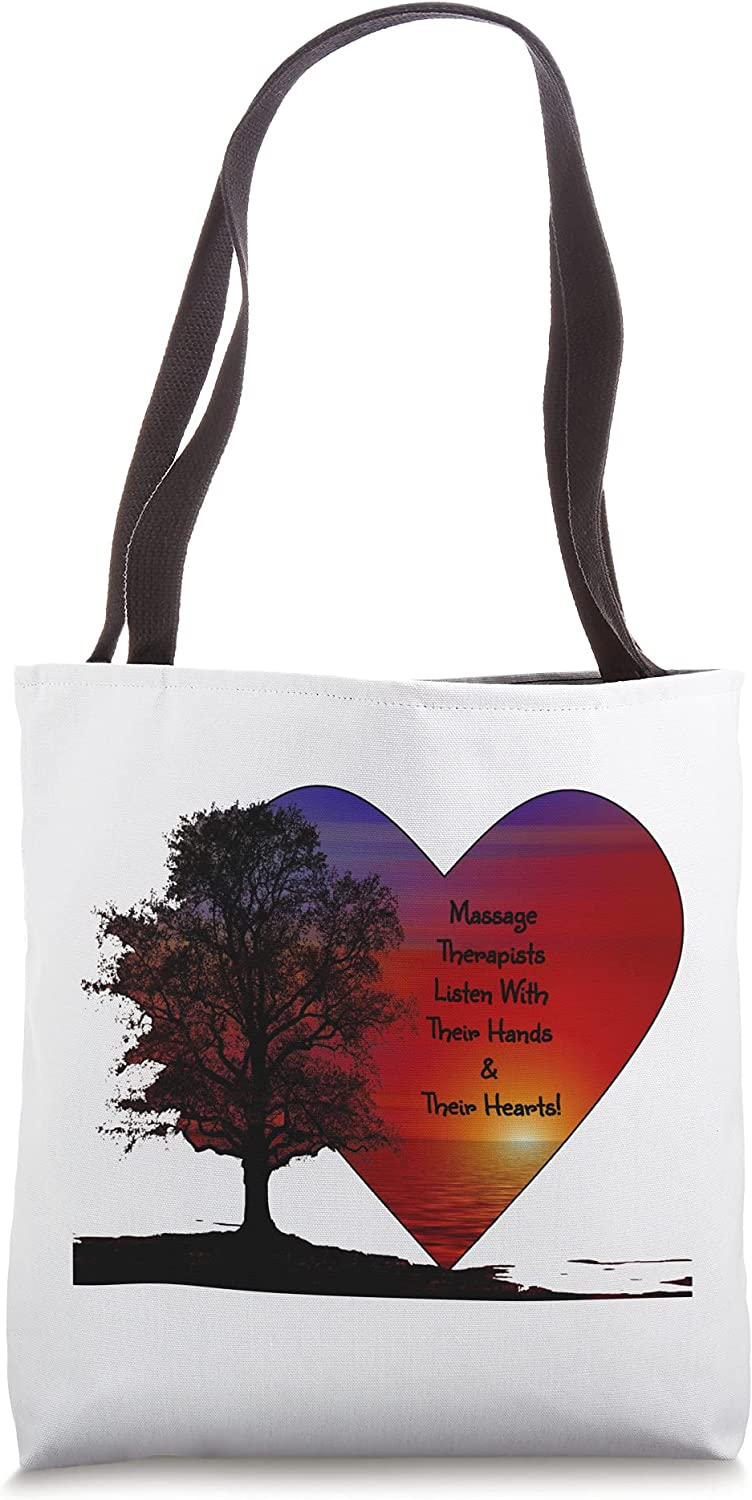 Max 90% OFF Listen Sales of SALE items from new works With Their Hands Hearts Therapist Massage Tote B