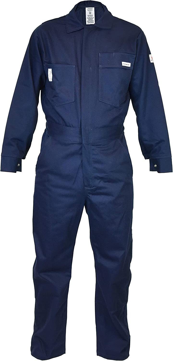 Ironwear 6500FR 9oz Flame Resistant Tucson Mall Cotton Pock Coverall Multi Mail order